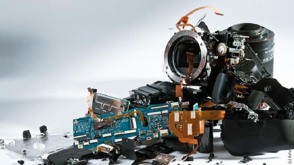 ремонт фотоаппаратов и другой электроники